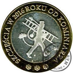 Moneta Świąteczna Mennicy Jurajskiej 2015/2016 (kominiarz) - bimetal Ag