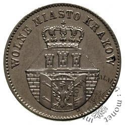 1 złoty - złotówka krakowska
