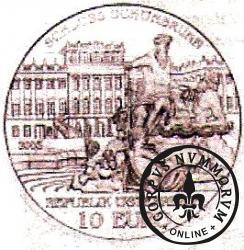 10 euro - Pałac Schönbrunn w Wiedniu