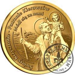 Święty Krzysztof (golden nordic)