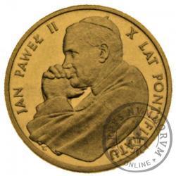 5000 złotych - Jan Paweł II - X lat pontyfikatu