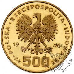 500 złotych - Tadeusz Kościuszko