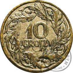 10 groszy - tektura