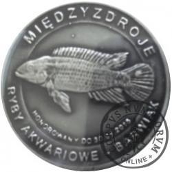 10 złotych rybek - Pomorze Zachodnie / Międzyzdroje ~ Barwiak (V emisja - alpaka oksydowana)
