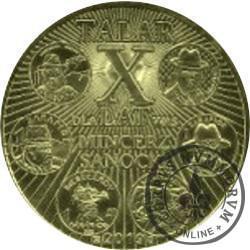 1 talar sanocki - X-lecie Mincerza z Sanoka / wersja II (XXI emisja - mosiądz)