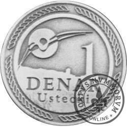 1 denar ustecki 2009 - Lech Wałęsa (Sn - edycja specjalna)