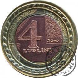 4 lubliny (bimetal) - Jarmark Jagielloński 2010