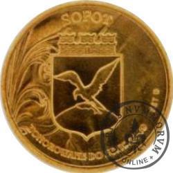 4 guldeny sopockie - Opera Leśna (mosiądz)