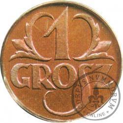 1 grosz - brąz