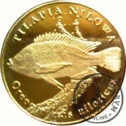 10 złotych rybek (mosiądz) - LIX emisja / TILAPIA NILOWA