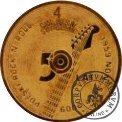 4 guldeny sopockie - Rock'n'roll (mosiądz)