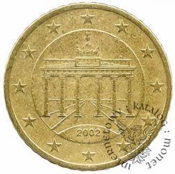 50 euro centów (J)