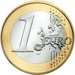 1 euro - Benedykt XVI