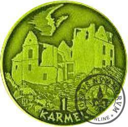 1 karmel / Sześćsetlecie Zagórza (mosiądz)