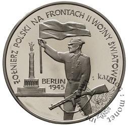 10 złotych - żołnierz polski na frontach II Wojny Światowej - Berlin 1945