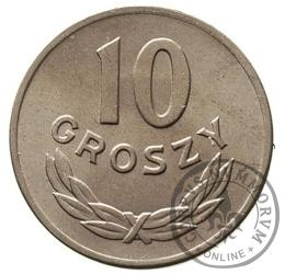 10 groszy - miedzionikiel