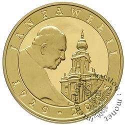 10 złotych - Jan Paweł II 1920-2005 - platerowane złotem