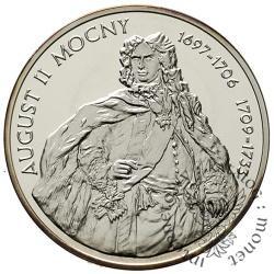 10 złotych - August II Mocny - półpostać