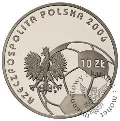 10 złotych - XVIII MŚ w piłce nożnej NIEMCY 2006
