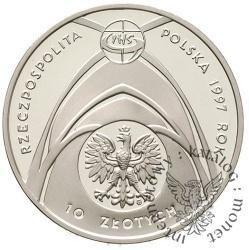 10 złotych - Jan Paweł II - Kongres Eucharystyczny