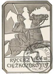 10 złotych - rycerz ciężkozbrojny XV w.