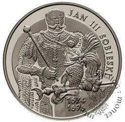 10 złotych -  Jan III Sobieski - półpostać