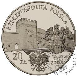 20 złotych - miasto średniowieczne w Toruniu