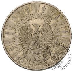 10 Złotych (Józef Piłsudski) Orzeł Strzelecki(1934) PRÓBA
