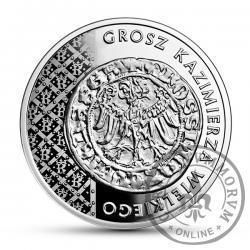 20 złotych - grosz Kazimierza Wielkiego