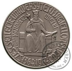 10 złotych - Kazimierz Wielki - orzeł bez korony Ni
