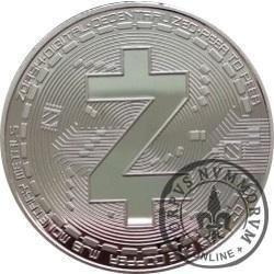 ZCASH ZEC (stal srebrzona)