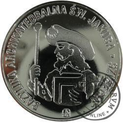 1 G - gulden jakubowy 2011 (mosiądz posrebrzany)