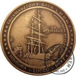 20 morskich - LWÓW (mosiądz patynowany)