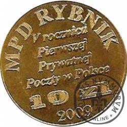 10 złotych - V Rocznica MPD Rybnik