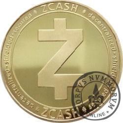 ZCASH ZEC (stal pozłacana)