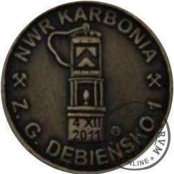 NWR KARBONIA (mosiądz oksydowany)