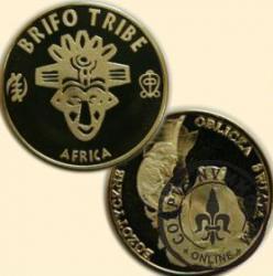 BRIFO TRIBE (mosiądz)