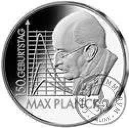 10 euro - 150 rocznica urodzin Maksa Plancka