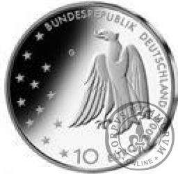 10 euro - 125 rocznica urodzin Franza Kafki