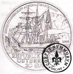 20 euro - Wyprawa polarna statkiem AdmirałTegetthoff
