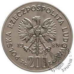 200 złotych - Sobieski na koniu