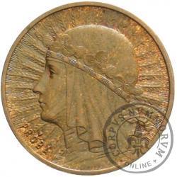 2 złote - Polonia - brąz