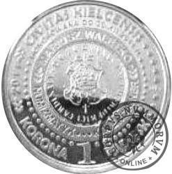 1 korona papieska (mosiądz posrebrzany)