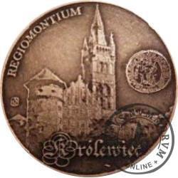 20 jantarów bałtyckich (KRÓLEWIEC) / WZORZEC PRODUKCYJNY DLA MONETY (miedź patynowana + bursztyn)
