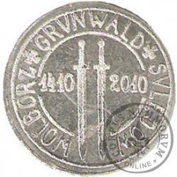 1 złoty - Grunwald - Al
