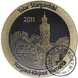 talar stargardzki - Baszta Morze Czerwone (mosiądz patynowany)