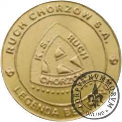 Ruch Chorzów SA - 90 lat emocji, radości i sukcesów (golden nordic)