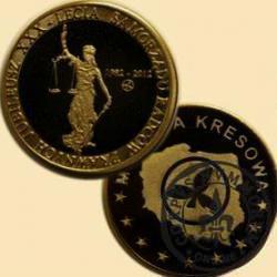 Jubileusz XXX Lecia Samorządu Radców Prawnych (mosiądz patynowany)