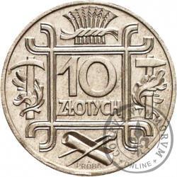 10 złotych - symbole