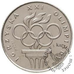 200 złotych - znicz i koła olimpijskie